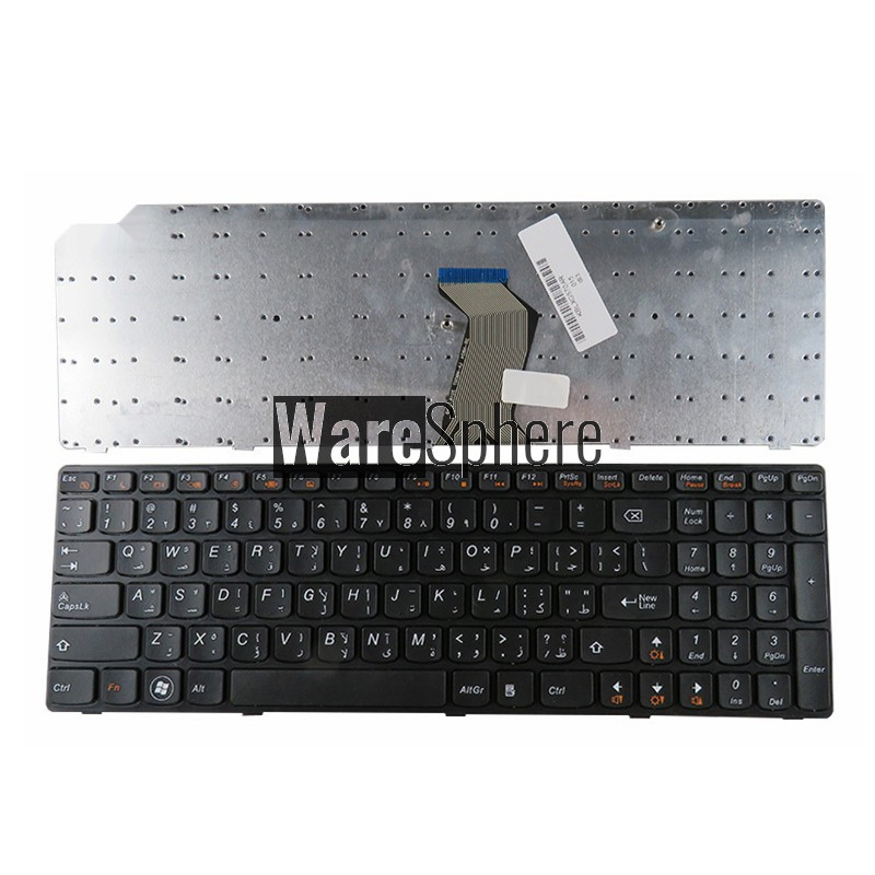 NEW Arabic Replace AR Keyboard For Lenovo G575 G570 Z560 Z560A Z560G Z565 G570AH G570G G575AC G575AL G575GL G575GX G780