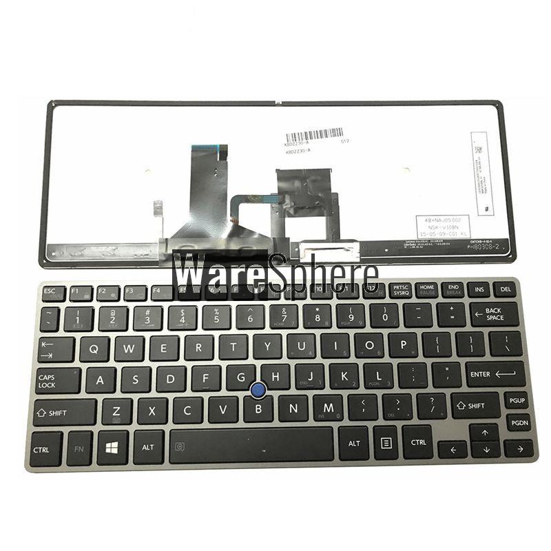 English keyboard US laptop keyboard For Toshiba Portege Z30-A Z30-B Z30-C Z30T-A Z30T-B B1310 B1320 Z30T-C  backlit