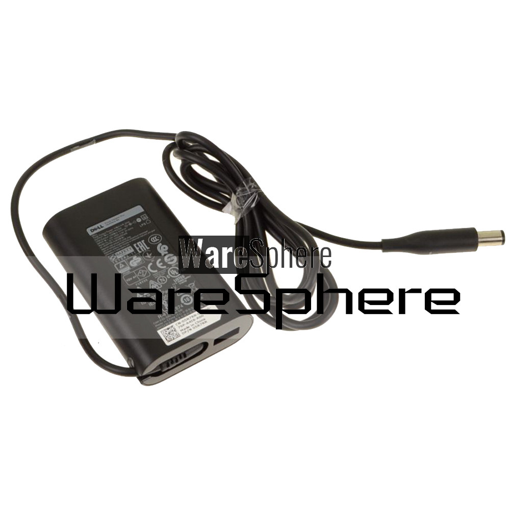 45W AC Power Adapter Plus 5W USB for Dell Latitude 7480 7490 5R7RR 05R7RR  HA50NM16B