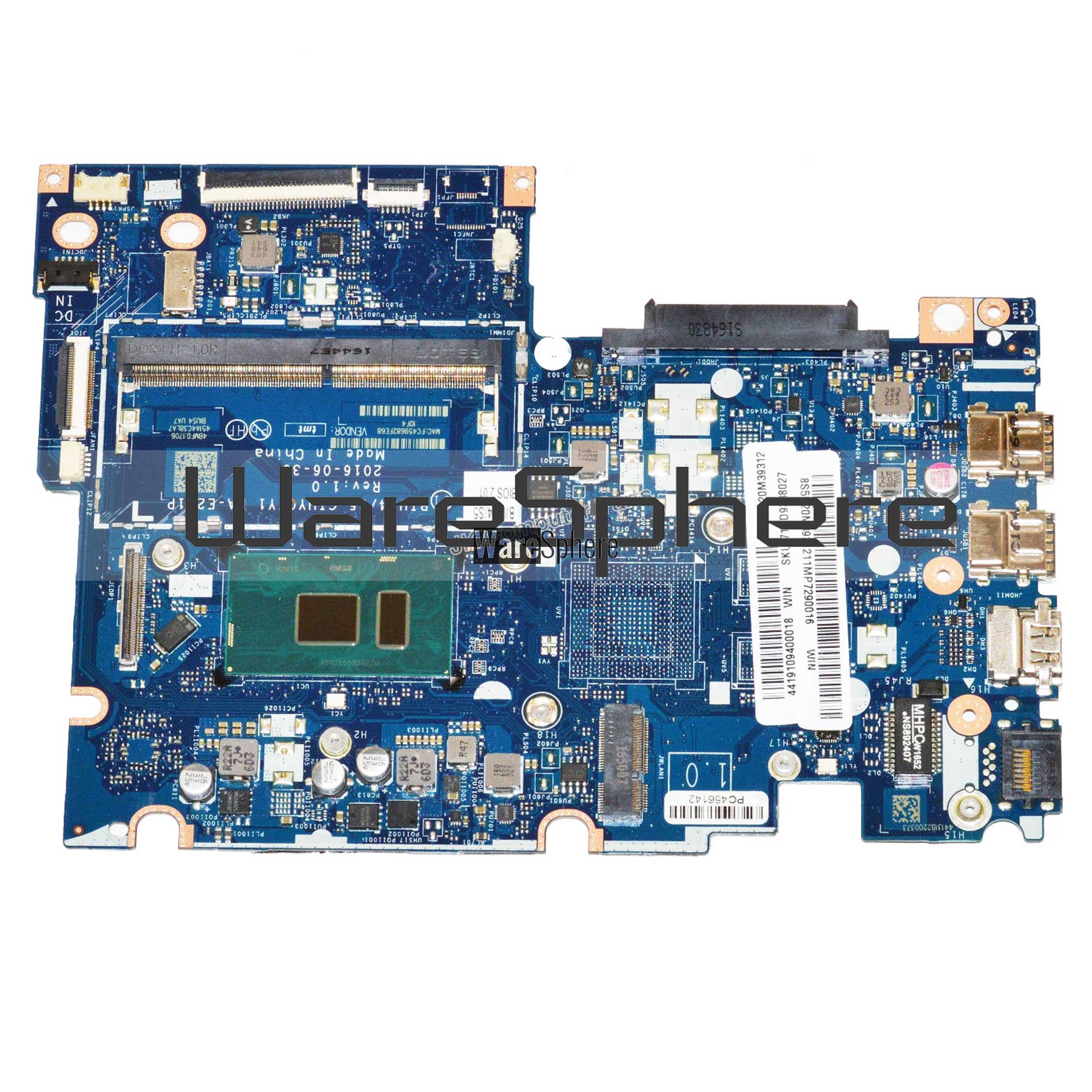Motherboard Intel i5-7200U 2 5Ghz For Lenovo Yoga 510S-14IKB 5B20M39312  LA-E221P