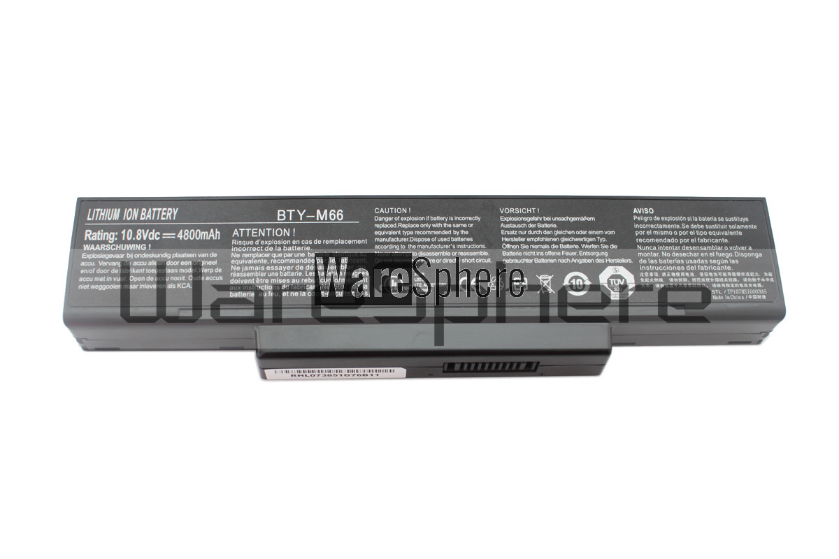MSI 4800mAh BTY-M66 Li-ion battery  (BTY-M66)