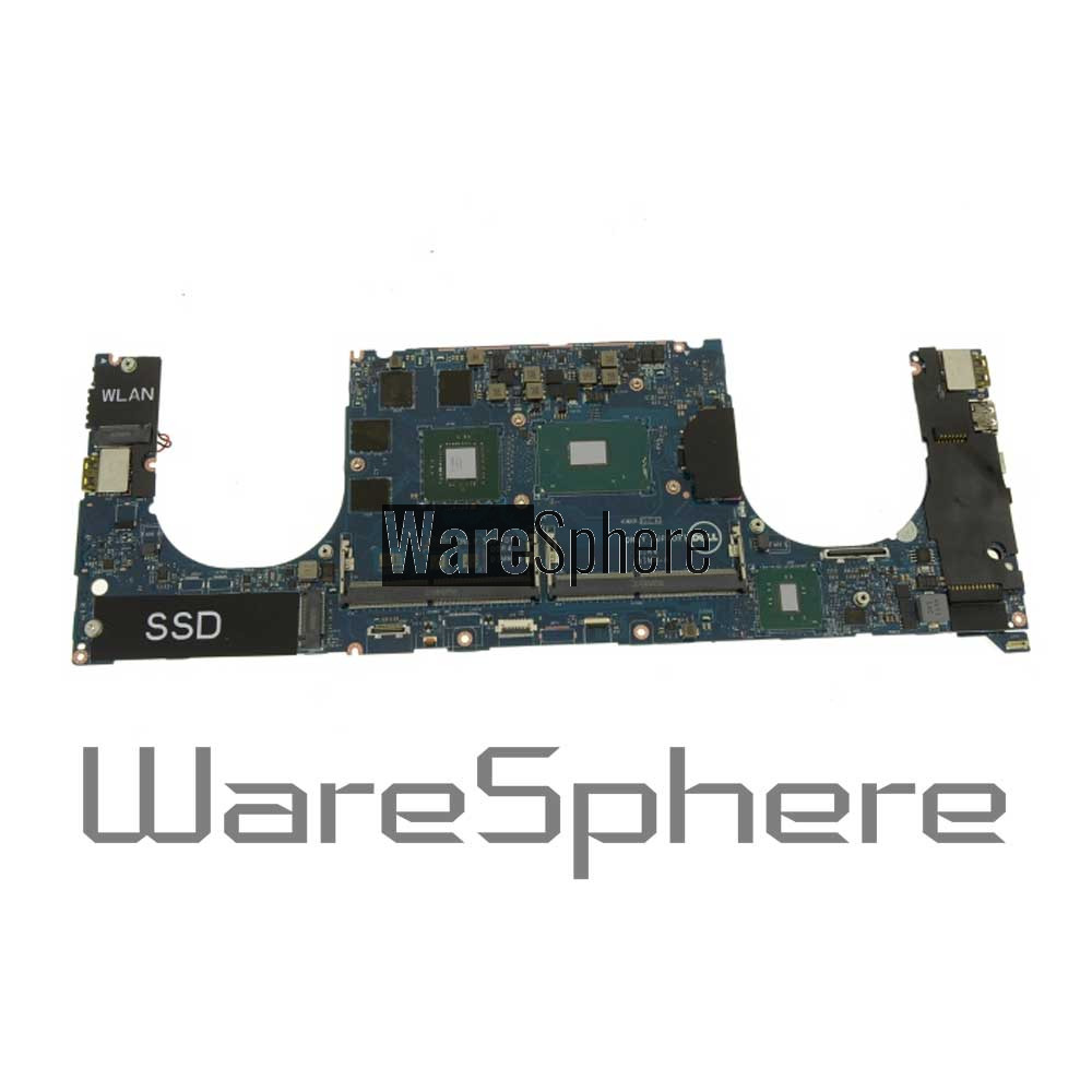 Motherboard i7-7700HQ 2 8GHZ 4GB for Dell XPS 15 9560 0YH90J YH90J