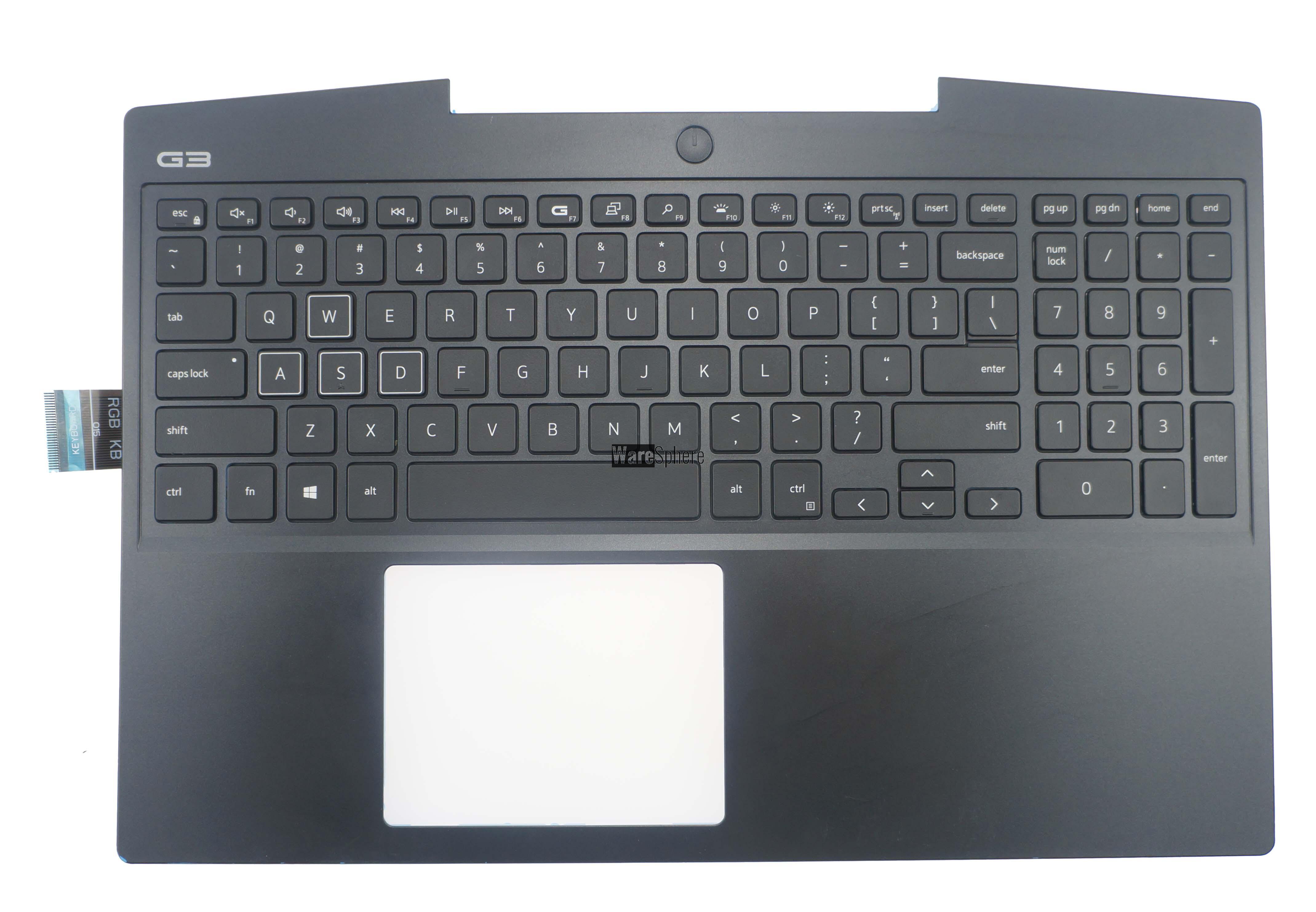 Top Cover Upper Case for Dell G3 3590 Palmrest Black