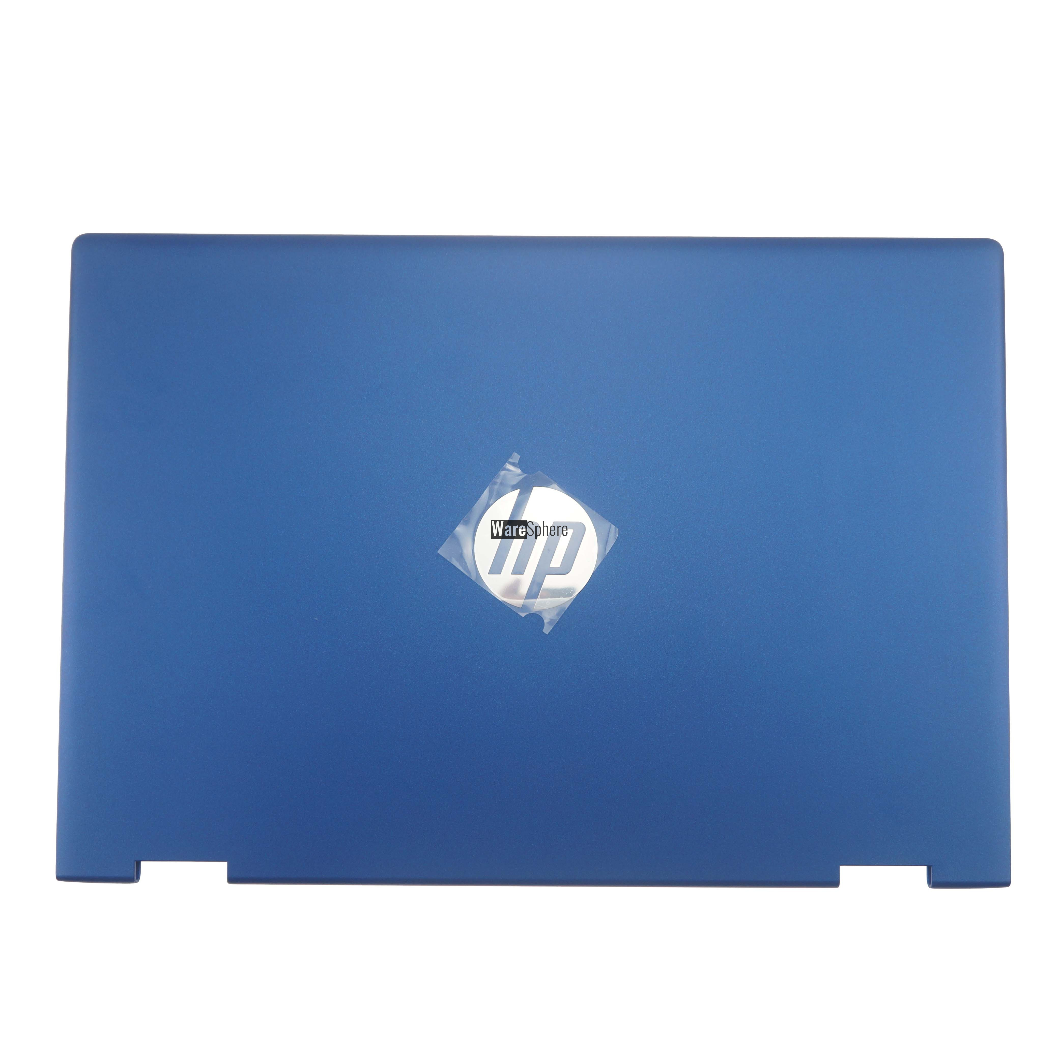 LCD Back Cover for HP Pavilion X360 14-CD non-touch Blue