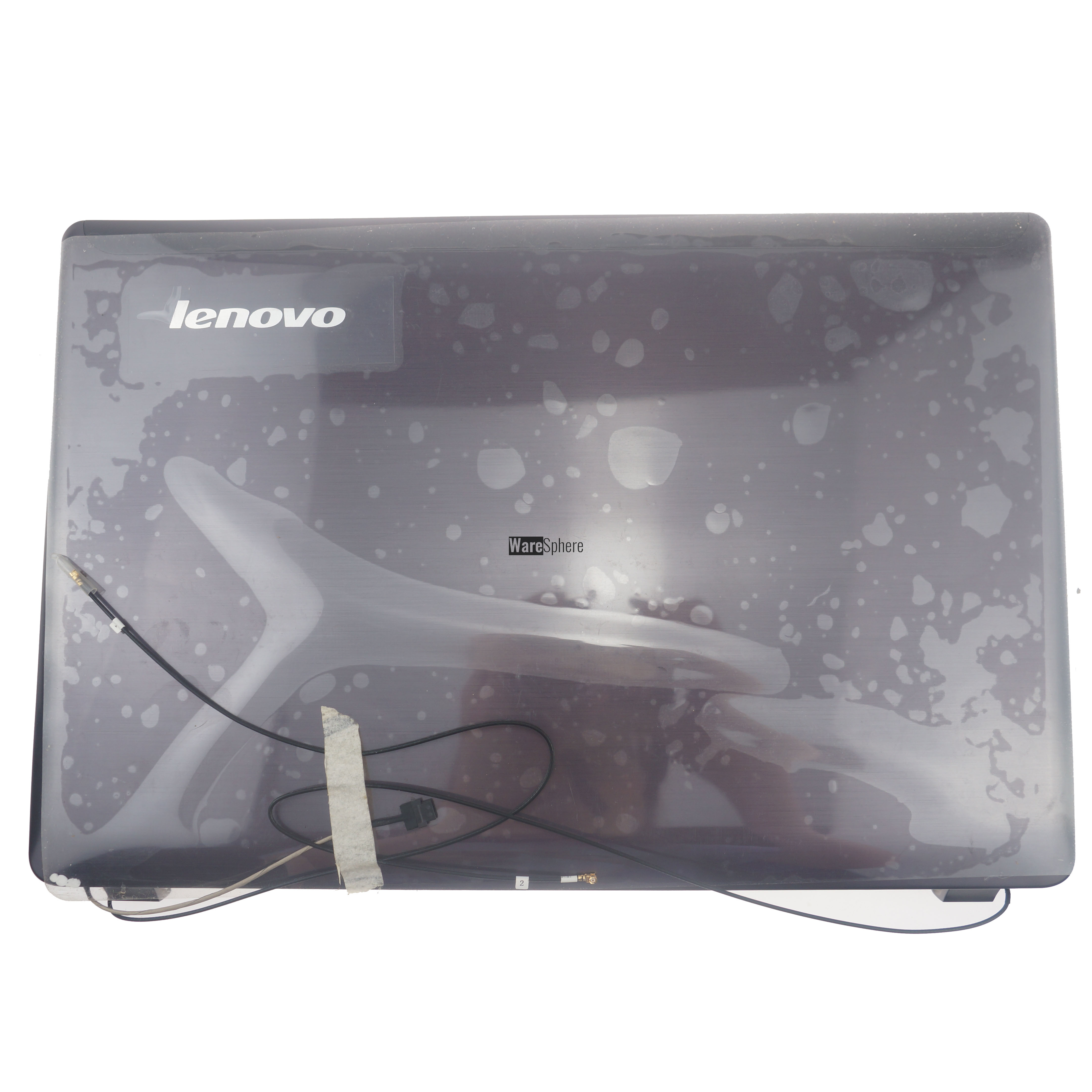 LCD Back Cover for Lenovo ideapad Z470 3CLZ2LCLV30 Amber Brown