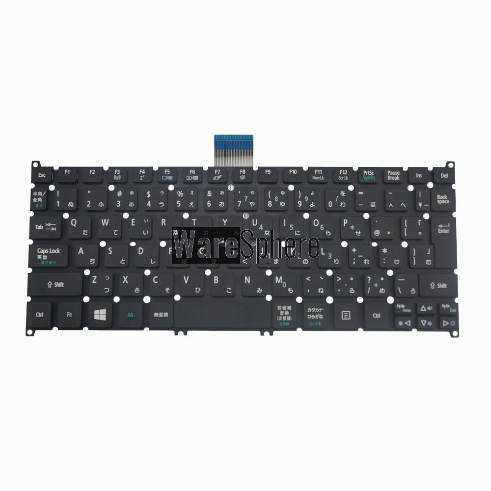 Laptop JPN Keyboard for Acer Travel Mate B113 V128202CJ3 PK130RO1B28 Black
