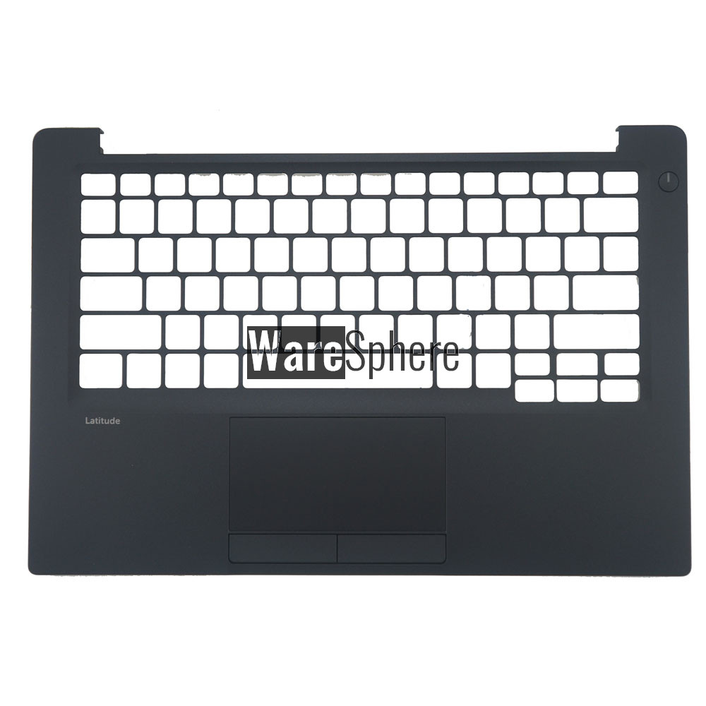 Top Cover Upper Case for Dell Latitude E7280 Palmrest with Touchpad 7GD4Y 07GD4Y Black