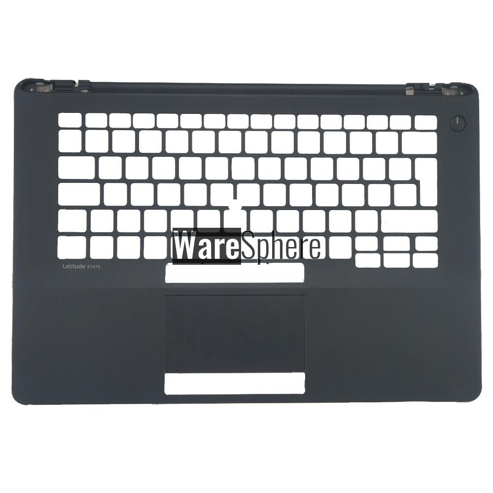 Top Cover Upper Case for Dell Latitude E7470 Palmrest UK 09MMK9 9MMK9 Black
