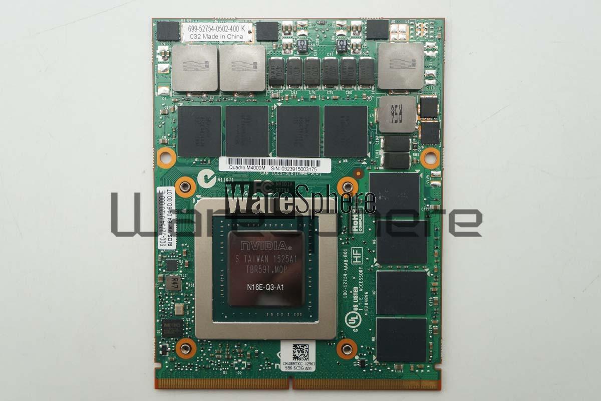 NVIDIA Quadro M4000M Video Card GPU 4GB GDDR5 N16E-Q3-A1 for Dell Precision  17 7710 089TXC 89TXC