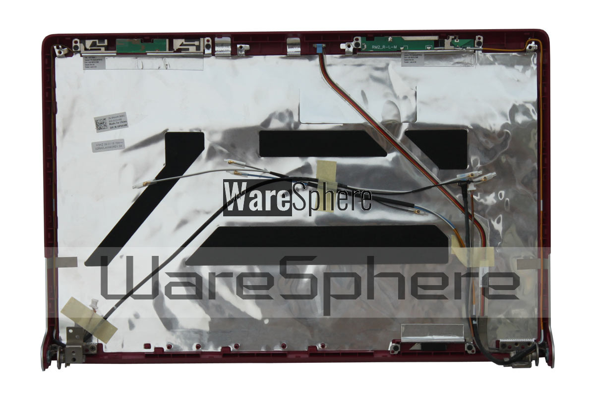 dell xps 1640 lcd cover red P944M