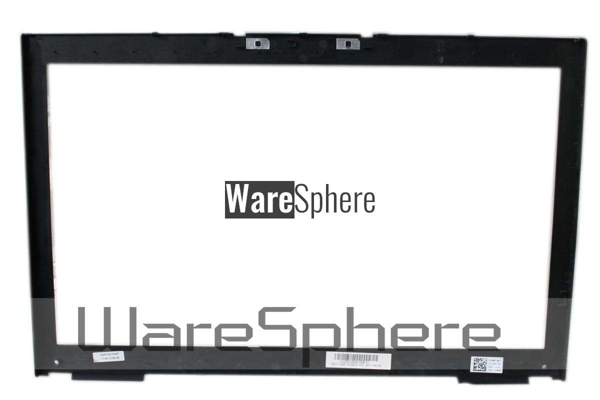 LCD Bezel Case Assembly for DELL Precision M6600 (With Touchscreen) 5NVP5 W/O Webcam
