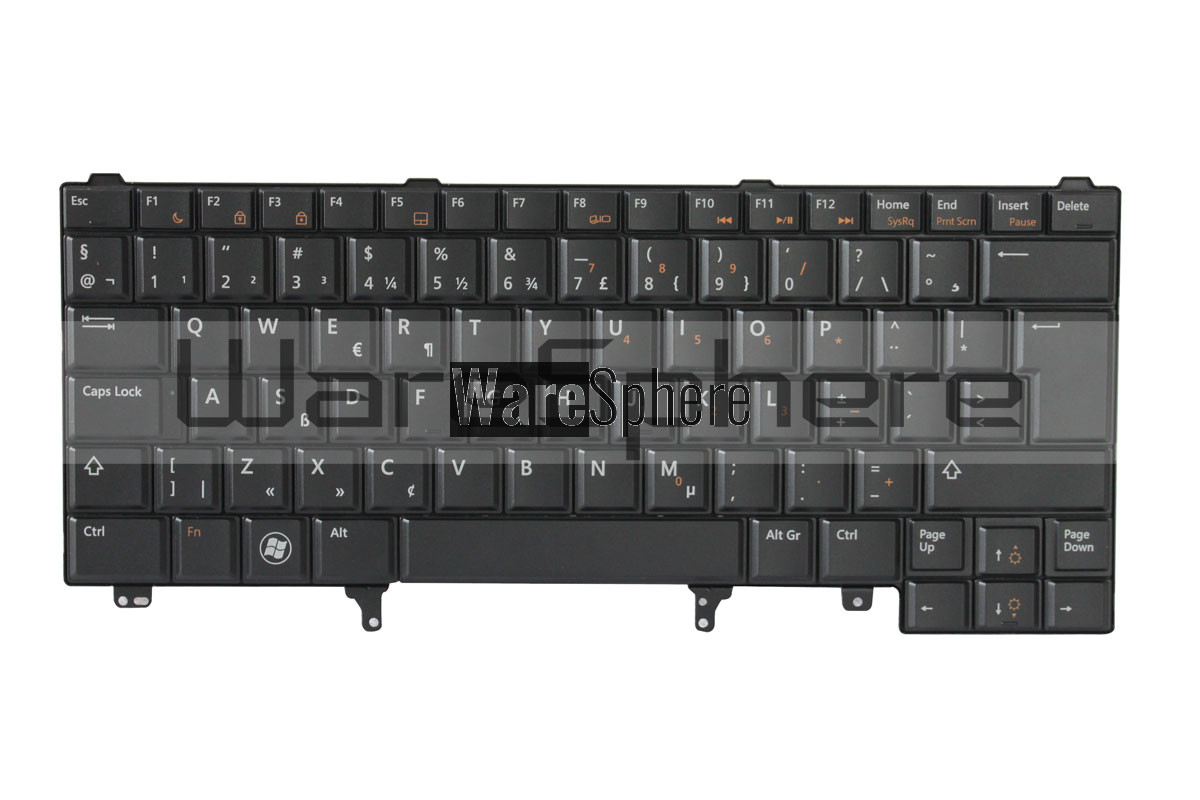 Keyboard for Dell Latitude E5420 TTX3V Netherlands Black