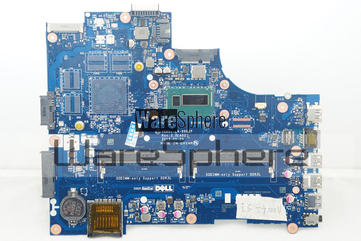 UMA Motherboard i5-4200U for Dell Inspiron 15R 5537 15 3537 00GCY LA-9982P
