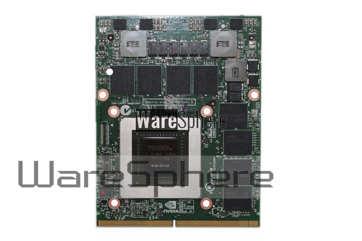 nVidia Quadro GTX680M N13E-GTX-A2 4GB DDR5 MXM 3.0 Graphics Card