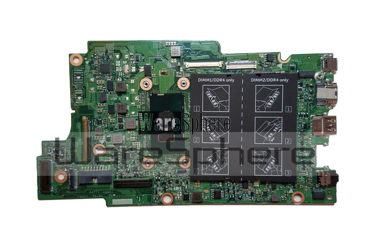 Motherboard i7-7500U for Dell Inspiron 7579 0FF2FN FF2FN