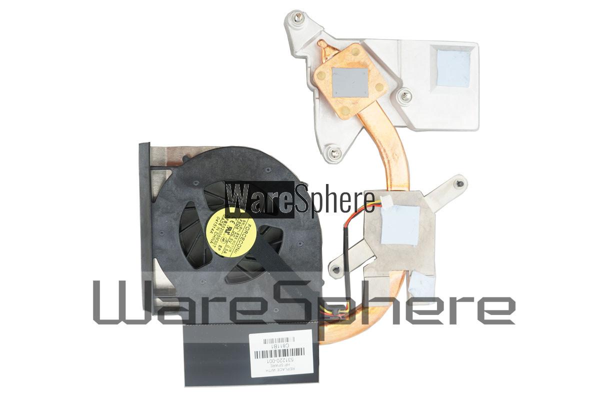 Heatsink and Fan for HP Compaq CQ61 G61 CQ71 G71 531220-001