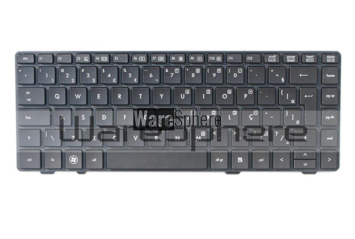 Keyboard for HP ProBook 6360B Black V119030B Brazil