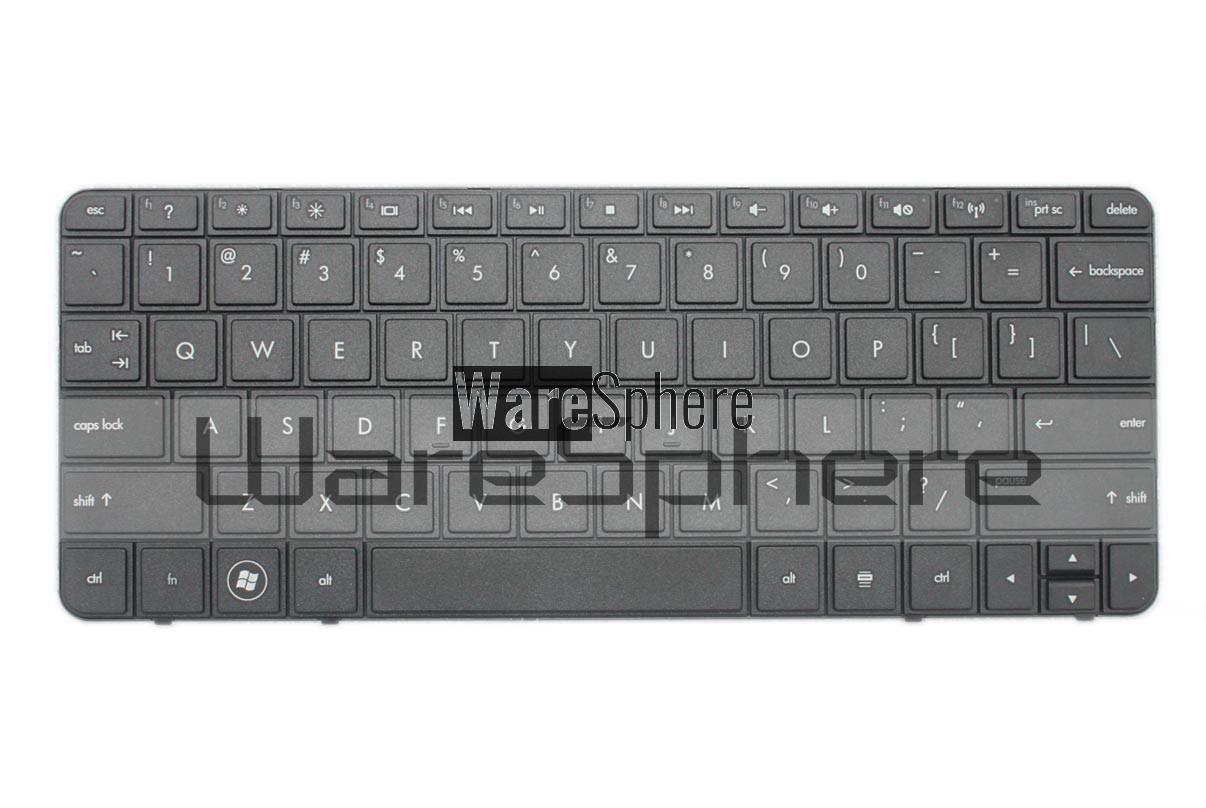 Keyboard for HP Mini 210 V112078AS2 Black US