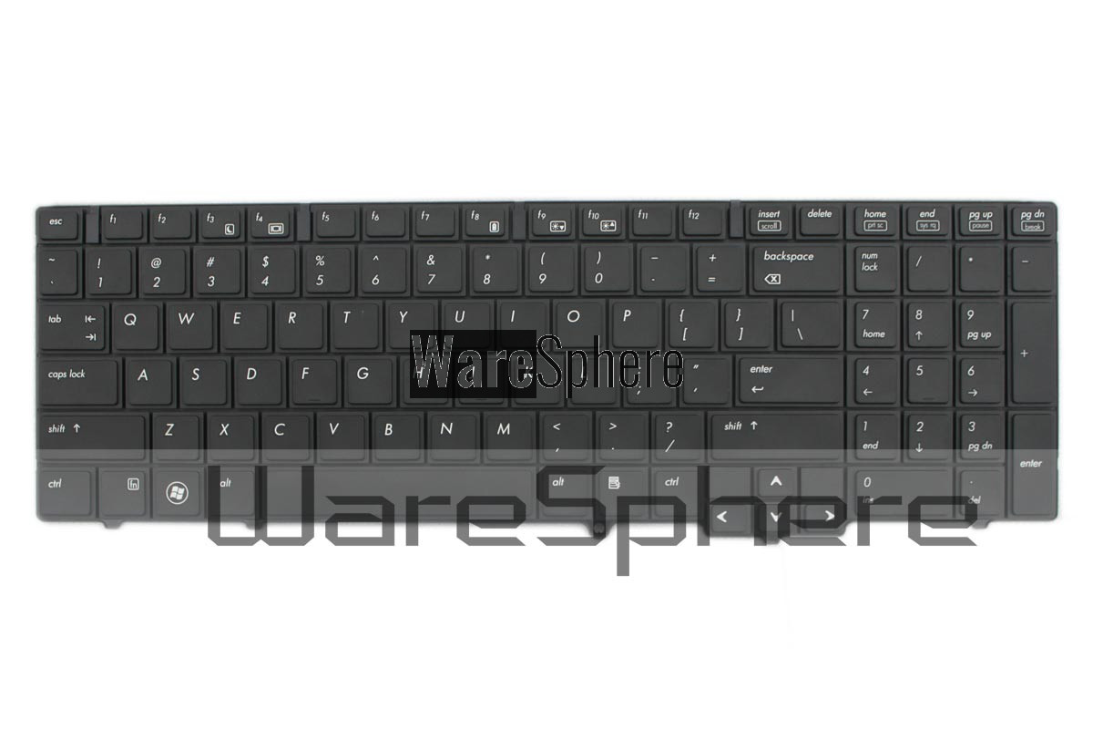 Keyboard for HP ProBook 6555B 609877-001 Black US V103226BS1