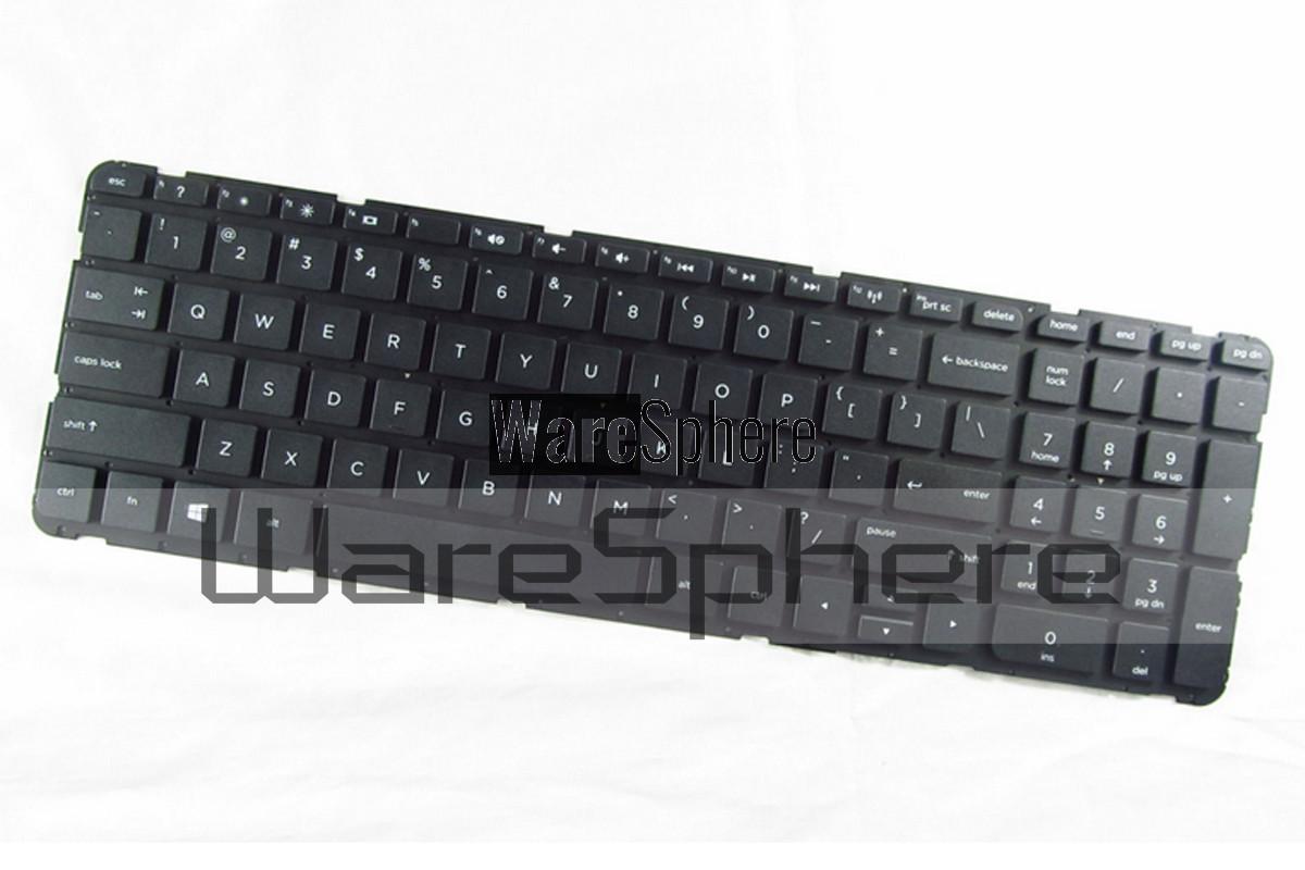 Laptop Keyboard Compatible for HP Pavilion 15-E000 15-N000 SeriesLaptop Keyboard 719853-001 NSK-CN6SC 01 US Layout W//Frame