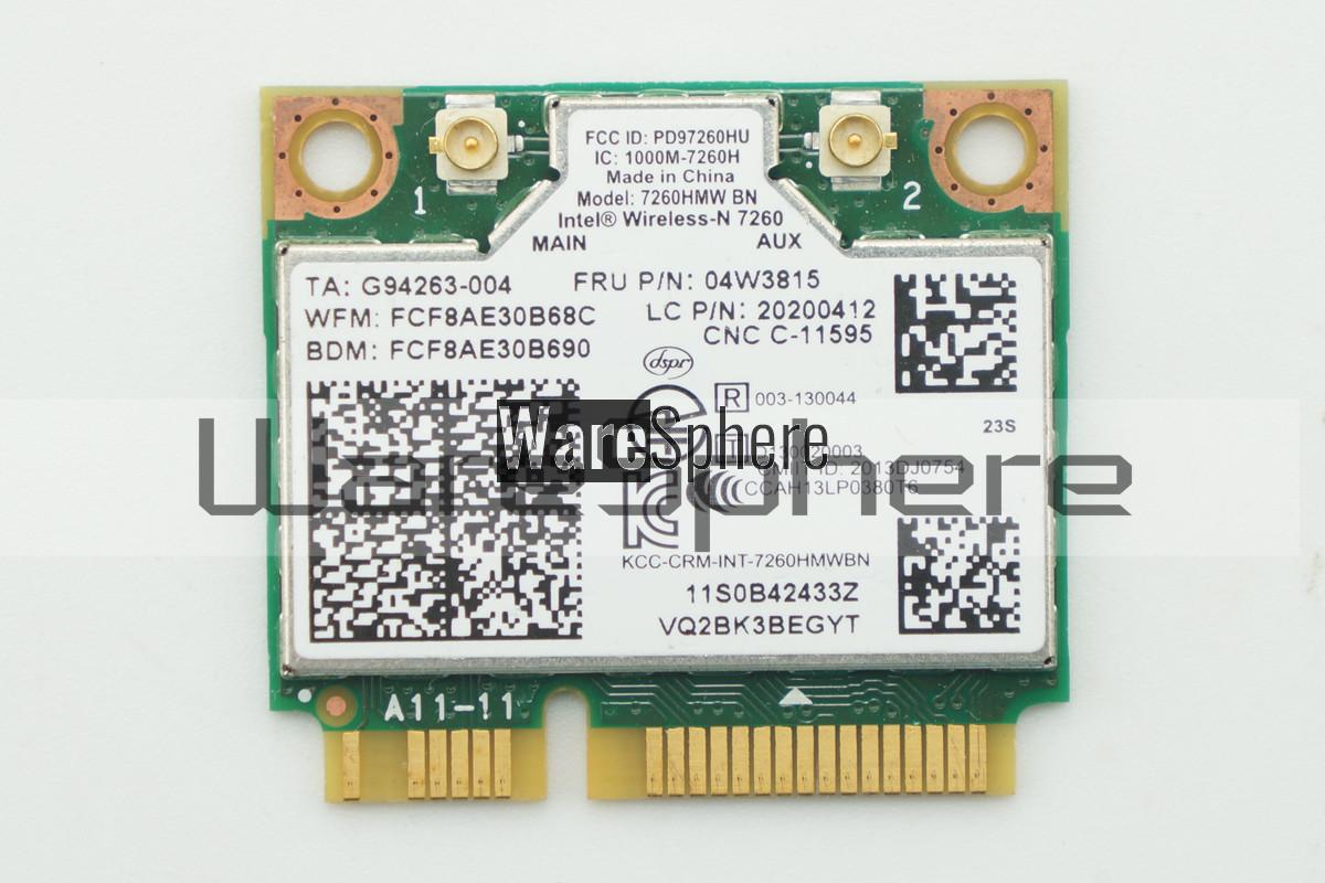 Intel 7260 AC Wireless WiFi Card for Lenovo 04W3815