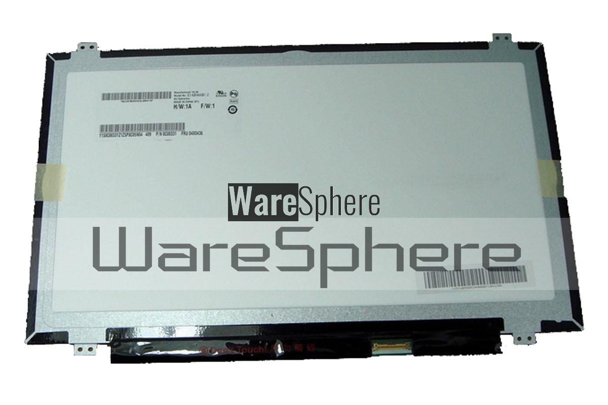 LCD Screen FHD eDP for Lenovo ThinkPad T440S 14 0
