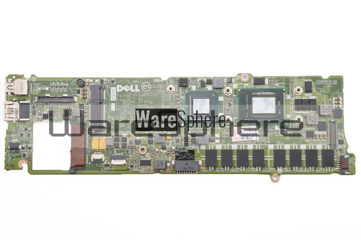 Motherboard W/ (i7-2637M 2.80Ghz) for Dell XPS 13 (L321X) 4GB RAM T0N27 DA0D13MBCD1