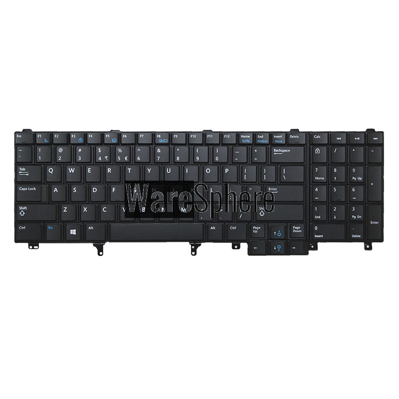 Keyboard for Dell Latitude E5520 E6520 Precision M6600 M4600 F5YDT 55010RY00-311-G Black US