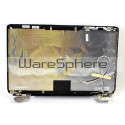 LCD Back Cover W/ Hinges Assembly for Dell Inspiron 1545 1546 RJ4D0 Black