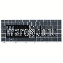 Laptop IT Keyboard for HP EliteBook 840 G5 with Backlit Silver Frame Point