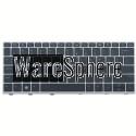 Laptop US Keyboard for HP Elitebook 830 735 G5 with Backlit Silver Frame Point L15500-001