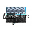 Backlit Keyboard for Apple MacBook Air 13.3 inch A1502 ME864A ME865A ME866A  Late 2013