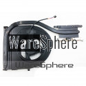 CPU Cooling Heatsink and Fan For Lenovo ThinkPad T460P T470P 01AW392