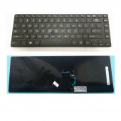 English Laptop Keyboard for Toshiba Z40-A Z40-AK01M Z40-AK03M Z40-AK Z40T-A NO Backlit US BLACK