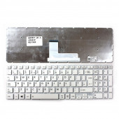 UK Keyboard For Toshiba Satellite L55-B L50-B S55-B S50-B L55DT-B S55T-B S55D-B WHITE