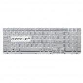 RU Keyboard for SONY VAIO E15 SVE 15 SVE15 149032851RU AEHK57002303A MP-11K73SU-920  Russian White with frame