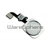 Home Button with Flex Cable for Apple iPhone 6 / 6 Plus White