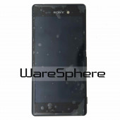 1290-6073 Sony Xperia Z3 D6603 Black LCD Display Touchscreen Front Cover