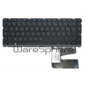 Keyboard for HP Pavilion 14-N000 PK1314C1A14 V139202AK1 FR Black