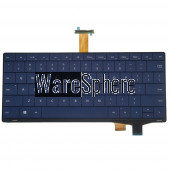 Laptop US Keyboard for Samsung Nc10 N130 0K04-00A70QS 2B-B9001MS06 Blue
