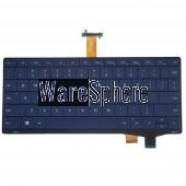 Laptop US Keyboard for Samsung Nc10 N130 0K04-00A70QS 2B-B9001MS06 Blue