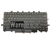 Laptop US Keyboard for Lenovo Thinkpad X1 Carbon 4th with Backlit Black Frame Point 0PA698 00PA698