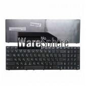 RU Laptop keyboard for ASUS K70I K70ID F90 F50 F52 F52q X5DC X5DIJ X50IJ X5DIN with Black frame