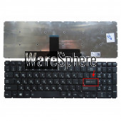 russian keyboard  for Toshiba Satellite L50-B L50D-B L55DT-B S50-B S50-BST2NX3 without frame RU