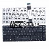 US Laptop Keyboard for ASUS X452C X452CP X452E X452EA X452EP X452L X452LA X450M X450MJ Black