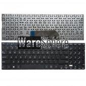 English laptop keyboard for ASUS TP500L TP500LA TP550L TP550LB TP550LU US without frame black