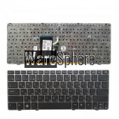New RU Keyboard for EliteBook 2560 2560P 2570 2570P Laptop with Gray Border Mouse pointer