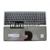 US Keyboard for Lenovo Ideapad Z500 Z500A Z500G P500 P500A US English silver Without Backlit