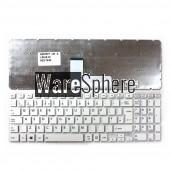 UK Keyboard For Toshiba Satellite L55-B L50-B S55-B S50-B L55DT-B S55T-B S55D-B WHITE