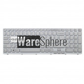 RU Keyboard for SONY VAIO E15 SVE 15 SVE15 149032851RU AEHK57002303A MP-11K73SU-920  Russian White with frame